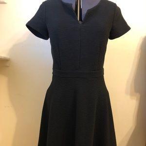 Black Ann Taylor dress, petite size 2.